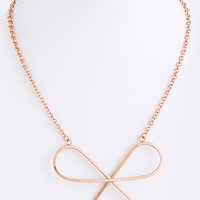 """""""Take a Bow"""" Necklace"""