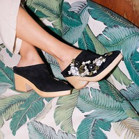 Free People Victory Embroidered Clog