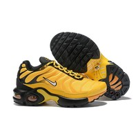 Nike Air Max Plus Black Gold Child Sneaker Toddler Kid Shoes - Best Deal Online
