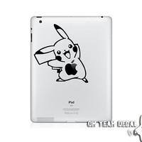 Pikachu ipad sticker Decal for Ipad Stickers ipad skin ipad cover Macbook Decals Apple Decal