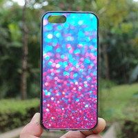 Glitter case,pink Sparkle Glitter,iphone 4/4s case, iphone 5 case,iphone 5s case,iphone 5c case,Gift,Personalized,water proof