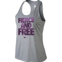 Nike Women's Fierce and Free Running Tank Top - Dick's Sporting Goods