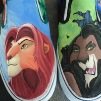 Lion King Shoes  FOR SALE