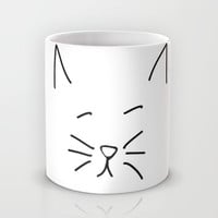 Awkward Cat Mug by daniellebourland