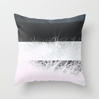 NegativiTree Throw Pillow by Ducky B
