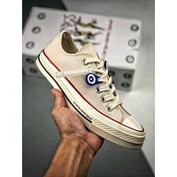 Converse X Corso Como Chuck Taylor All Star 1970s New Classic Popular Women Men Casual Canvas Flat Low Top Sport Shoe Sneakers Beige I-A50-XYZ
