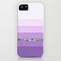 Party Stripes PURPLE III iPhone & iPod Case by Monika Strigel for iphone 5 + 4 + 3 + ipod touch + SAMSUNG GALAXY