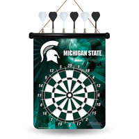 Michigan State Spartans NCAA Magnetic Dart Board