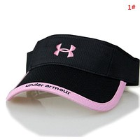 Under Armour New fashion embroidery letter hollow couple cap hat 1#