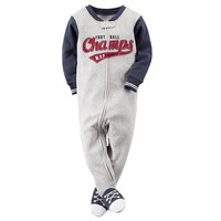 Carter's ''Football Champs M.V.P.'' Footed Pajamas - Baby Boy, Size:
