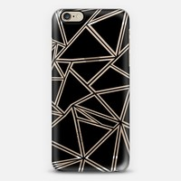 Shattered Ab Zoom Black Transparent iPhone 6 case by Project M   Casetify