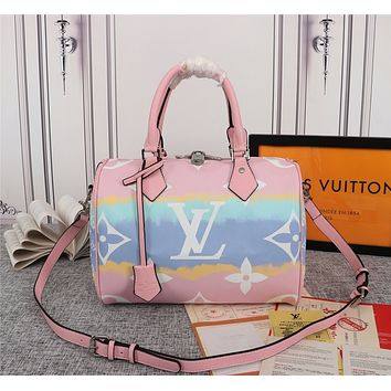 lv louis vuitton women leather shoulder bags satchel tote bag handbag shopping leather tote crossbody 244