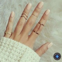 6-Piece Stackable Ring Set