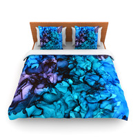 "Claire Day ""Lucid Dream"" King Fleece Duvet Cover - Outlet Item"