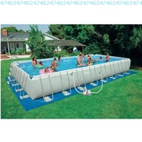 Intex 32 foot x 16 foot x 52 foot Rectangular Ultra Frame Pool:Amazon:Toys & Games