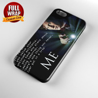 Tardis Doctor Who Quote Full Wrap Phone Case For iPhone, iPod, Samsung, Sony, HTC, Nexus, LG, and Blackberry