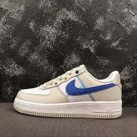 Nike Air Force 1 07 Low Racer Blue Running Shoes AF1 Casual Sneakers - Best Deal Online
