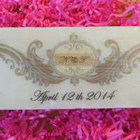 All Natural Soap with Personalized Image/Message, Great for Gifting and Party Favor