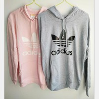 Fashion Adidas Print Hooded Pullover Tops Sweater Sweatshirts Tagre™