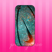 colorful nike photo glitter case for samsung galaxy s3,s4, iphone 4/4s, iphone 5. iphone 5s. iphone 5c case