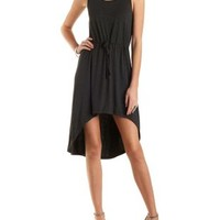 Jersey Knit High-Low Tank Dress by Charlotte Russe