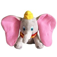 1pcs 30cm Dumbo Elephant Plush Toys Stuffed Animals Soft Toys for baby Gift stuffed doll for collection
