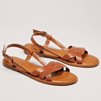 AEO Twisted Strappy Sandal   American Eagle Outfitters