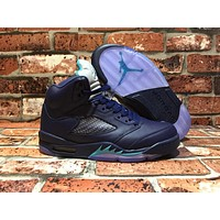 "Air Jordan 5 Retro AJ5 ""Midnight Navyâ€"