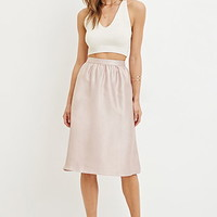 Sheeny A-Line Skirt
