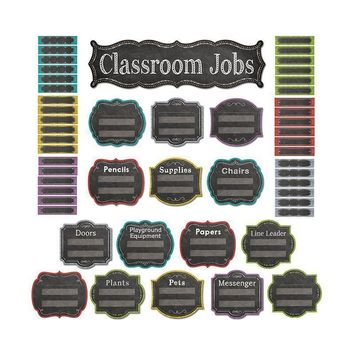 Classroom Jobs Mini Bb Set Chalk