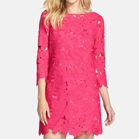 Women's FELICITY & COCO Floral Lace Shift Dress (Nordstrom Exclusive)