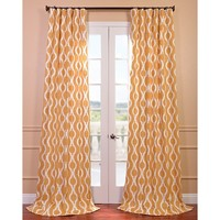 Medina Printed Cotton Curtain Panel   Overstock.com Shopping - The Best Deals on Curtains