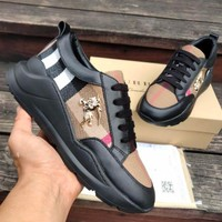 BURBERRY millimeter classic sports shoes-3