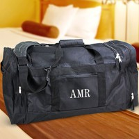 Embroidered Large Duffel Bag