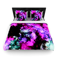 "Claire Day ""Siren"" Pink Purple Lightweight Duvet Cover"