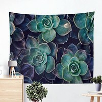 Gorgeous Succulent Tapestry