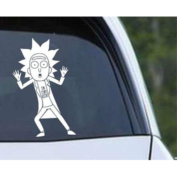 Rick and Morty - I'm Tiny Rick Die Cut Vinyl Decal Sticker