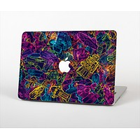 "The Neon Robots Skin Set for the Apple MacBook Pro 15"" with Retina Display"