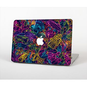 """The Neon Robots Skin Set for the Apple MacBook Air 13"""""""
