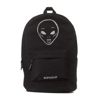 WE OUT HERE REFLECTIVE BACKPACK