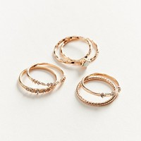 Simone Delicate Ring Set | Urban Outfitters