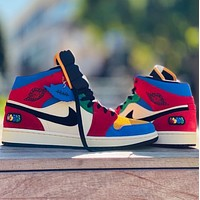 Hipgirls Air Jordan 1 Retro High OG Colorblock Classic Culture Leisure Sports Basketball Shoes Board Shoes