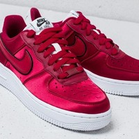 "Nike Air Force 1 Low '07 SE ""Wine Red"" Sneaker AA0287-602"