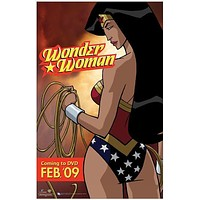 Wonder Woman 27x40 Movie Poster (2009)