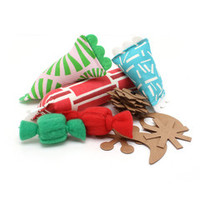 Palm Springs Holiday Cat Toy Gift Box