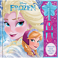 Frozen Book with Wand