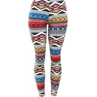 Hand By Hand Women's Printed Pattern Leggings Pattern1:Amazon:Clothing