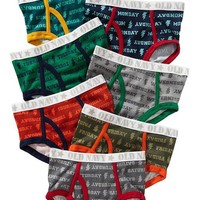 Day-of-the-Week Underwear 7-Packs for Baby