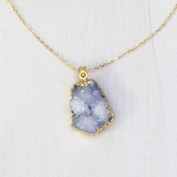 Thuy Geode Necklace