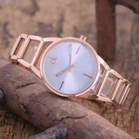 Calvin Klein Women Fashion Quartz Movement Simple Wristwatch Watch